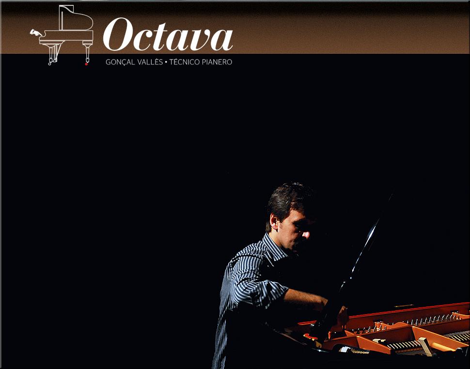 Octava: Gonçal Vallès, afinador y reparador de pianos