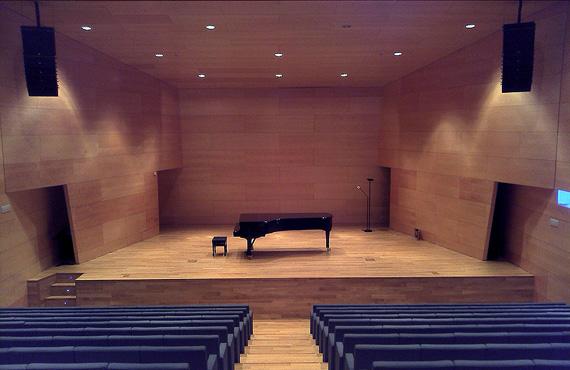 Afinador de pianos en el Auditori Can Roig i Torres