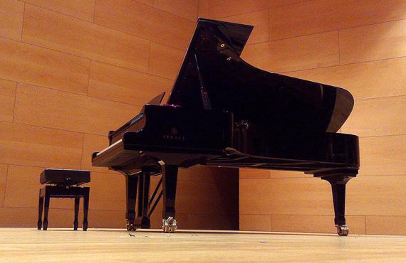 Afinació de piano a l'Auditori Can Roig i Torres